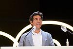 Bernabe Rico during Malaga Film Festival Gala at Teatro Cervantes.August 24 2020. (Alterphotos/Francis González)