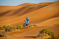 25 Pedrero Garcia Juan (esp), KTM, LS2 Aventura Touareg, Moto, Bike, action during Stage 11 of the Dakar 2020 between Shubaytah and Haradh, 744 km - SS 379 km, in Saudi Arabia, on January 16, 2020  <br /> Rally Dakar <br /> 16/01/2020 <br /> Photo DPPI / Panoramic / Insidefoto