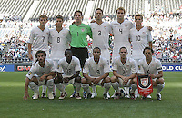 USA Starting Eleven. USA defeated Grenada 4-0 during the First Round of the 2009 CONCACAF Gold Cup at Qwest Field in Seattle, Washington on July 4, 2009.