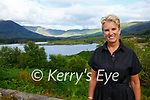 Kerry Kennedy enjoying her visit to Cappamore, Waterville on Saturday while visiting Susan & Henry Livingston at their property.