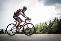 Loic Vliegen (BEL/BMC) up the Col Du Rosier. <br /> <br /> 104th Liège - Bastogne - Liège 2018 (1.UWT)<br /> 1 Day Race: Liège - Ans (258km)