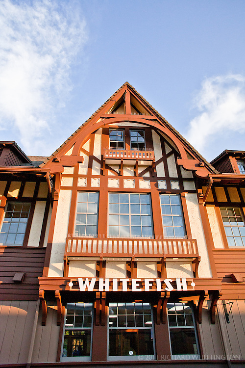 At twilight, we rolled into Whitefish, Montana, where we had a short stop at the historic train depot. We were able to get off the train, stretch our legs, and breathe the fresh mountain air of the western side of the Continental Divide.