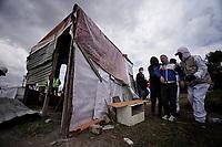 Desalojo La Estancia Dia 50 Cuarentena Coronavirus, Bogota, Colombia. 14-05-2020