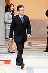 Santiago Auseron attend the National Awards of Culture 2011 and 2012 at Palacio de El Pardo. February 19, 2013. (ALTERPHOTOS/Caro Marin)