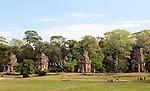 Suor Prat Towers 01 - Suor Prat Towers, Angkor Thom, Cambodia