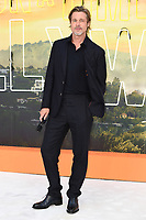 """Brad Pitt<br /> arriving for the """"Once Upon a Time... in Hollywood"""" premiere, Leicester Square, London<br /> <br /> ©Ash Knotek  D3514  30/07/2019"""