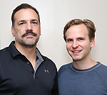 "Matthew Montelongo and Ryan Spahn attends the off-broadway cast photo call for ""Daniel's Husband"" on September 24, 1994 at SAtudio 353 in New York City."