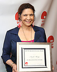 Trazana Beverley attends the 2019 Off Broadway Alliance Awards Reception at Sardi's on June 18, 2019 in New York City.