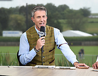 DYERSVILLE, IOWA - AUGUST 12: Fox MLB Pregame broadcaster Kevin Burkhardt at the Fox broadcast of the MLB Field of Dreams game on August 12, 2021 in Dyersville, Iowa. (Photo by Frank Micelotta/Fox Sports/PictureGroup)