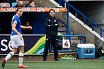 Liverpool Ladies 2 Everton Ladies 1, 19/03/2017. Select Security Stadium, SSE FA Cup Fifth Round. Everton's Manager Andy Spence during the game between Liverpool Ladies v Everton Ladies at The Select Security Stadium, Widnes, in the Women's SSE FA Cup Fifth Round. Photo by Paul Thompson.