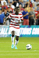 U.S midfielder Eddie Johnson (19) in action..USMNT defeated Guatemala 3-1 in World Cup qualifying play at LIVESTRONG Sporting Park, Kansas City, KS.