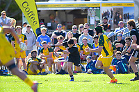 Max Hughes passes during the rugby union match between New Zealand Schools and Australia Under-18s at St Paul's Collegiate in Hamilton, New Zealand on Friday, 4 October 2019. Photo: Dave Lintott / lintottphoto.co.nz