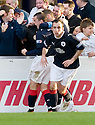 30/10/2010   Copyright  Pic : James Stewart.sct_jsp023_falkirk_v_dundee  .:: MARK MILLER CELEBRATES AFTER HE SCORES FROM THE SPOT :: .James Stewart Photography 19 Carronlea Drive, Falkirk. FK2 8DN      Vat Reg No. 607 6932 25.Telephone      : +44 (0)1324 570291 .Mobile              : +44 (0)7721 416997.E-mail  :  jim@jspa.co.uk.If you require further information then contact Jim Stewart on any of the numbers above.........