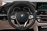 Car pictures of steering wheel view of a 2018 BMW X4 x Line 5 Door SUV