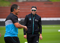 Tom Latham. The Black Caps train for the International Test Cricket match between the New Zealand Black Caps and West Indies at the Basin Reserve in Wellington, New Zealand on Wednesday, 9 December 2020. Photo: Dave Lintott / lintottphoto.co.nz