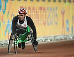 Ben Brown, Toronto 2015 - Para Athletics // Para-athlétisme.<br /> Ben Brown competes in the men's 100m T53 final // Ben Brown participe à la finale du 100 m T53 masculin. 10/08/2015.
