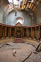 Morocco - Ouarzazate - The set of an ancient Roman tribunal within an almost abandoned complex built in 1996 by an Italian production. It represents Jerusalem and served for the shooting of dozens of religious movies.