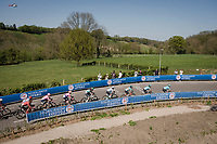 Team Astana setting the pace<br /> <br /> 54th Amstel Gold Race 2019 (1.UWT)<br /> One day race from Maastricht to Berg en Terblijt (NED/266km)<br /> <br /> ©kramon