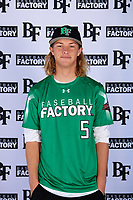 Jared Billen (5) of Hillcrest High School in Riverside, California during the Baseball Factory All-America Pre-Season Tournament, powered by Under Armour, on January 12, 2018 at Sloan Park Complex in Mesa, Arizona.  (Mike Janes/Four Seam Images)