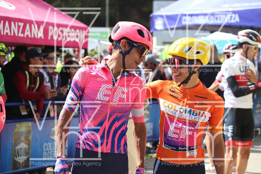 TUNJA - COLOMBIA, 15-02-2020: Sergio Higuita (COL), EF EDUCATION FIRST, durante la quinta etapa del Tour Colombia 2.1 2020 con un recorrido de 180,5 km que se corrió entre Paipa, Boyacá, y Zipaquirá, Cundinamarca. / Sergio Higuita (COL), EF EDUCATION FIRST, during the fifth stage of 180,5 km as part of Tour Colombia 2.1 2020 that ran between Paipa, Boyaca, y Zipaquirá, Cundinamarca.  Photo: VizzorImage / Darlin Bejarano / Cont