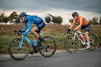 Gloria Rodriguez Sanchez (ESP/Movistar)<br /> <br /> 17th Ronde van Vlaanderen 2020<br /> Elite Womens Race (1.WWT)<br /> <br /> One Day Race from Oudenaarde to Oudenaarde 136km<br /> <br /> ©kramon