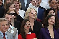 CHRISTOPH WALTZ MATHIEU KASSAOVITZ BERENICE BEJO JULIETTE BINOCHE CHARLIZE THERON JESSICA CHASTAIN MARION COTILLARD NICOLE GARCIA WILL SITH NICOLAS WIDDING RIFN 70th Anniversary Photocall - The 70th Annual Cannes Film Festival<br /> CANNES, FRANCE - MAY 23