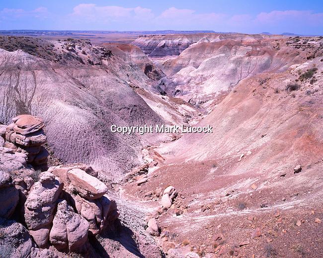Blue Mesa, Painted Desert, Arizona
