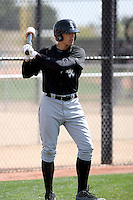 Trayce Thompson, Chicago White Sox 2010 minor league spring training..Photo by:  Bill Mitchell/Four Seam Images.