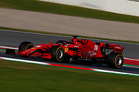 #16 Charles Leclerc, Scuderia Ferrari. Formula 1 World championship 2020, Winter testing days #1 2020 Barcelona, 19-21 February 2020.<br /> Photo Federico Basile / Insidefoto