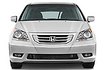 Straight front view of a 2009 Honda Odyssey Touring