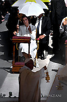 Queen Sophia of Spain attends the holy mass and canonisation for Mother Teresa of Kolkata, on Saint Peter's Square in the Vatican, on September 4, 2016.
