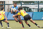The match between Sri Lanka and Thailand of the Asia Rugby U20 Sevens Series 2016 on 12 August 2016 at the King's Park, in Hong Kong, China. Photo by Marcio Machado / Power Sport Images