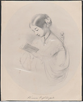 BNPS.co.uk (01202 558833)<br /> Pic: ArgyllEtkin/BNPS<br /> <br /> Pictured: A drawing of Florence Nightingale included in the sale.<br /> <br /> A prescient letter by Florence Nightingale expressing her anger at the lack of medical care for the poor 80 years before the creation of the NHS has sold for more than £3,000.<br /> <br /> The nursing heroine showed remarkable foresight when she wrote of her frustration that only wealthy people could access hospital care when sick.<br /> <br /> She feared the consequences of neglecting poor people at home and in workhouses meant they would suffer prolonged sickness that would condemn their children to a lifetime of poverty.