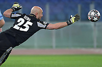 Manuel Jose Pepe Reina of SS Lazio saves during the Champions League round of 16 football match between SS Lazio and Bayern Munchen at stadio Olimpico in Rome (Italy), February, 23th, 2021. Photo Andrea Staccioli / Insidefoto