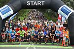 Harbour Sport Shore 2 Shore fun run, Takapuna, Sunday 8 November 2020, Auckland, New Zealand. Photo: Simon Watts/www.bwmedia.co.nz