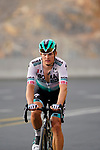 Martin Laas (EST) Bora-Hansgrohe climbs the final 4km of Jais Mountain during Stage 5 of the 2021 UAE Tour running 170km from Fujairah to Jebel Jais, Ras Al Khaimah, UAE. 25th February 2021.  <br /> Picture: Eoin Clarke   Cyclefile<br /> <br /> All photos usage must carry mandatory copyright credit (© Cyclefile   Eoin Clarke)