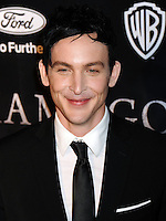 NEW YORK CITY, NY, USA - SEPTEMBER 15: Robin Lord Taylor arrives at the New York Series Premiere Of 'Gotham' held at the New York Public Library on September 15, 2014 in New York City, New York, United States. (Photo by Celebrity Monitor)