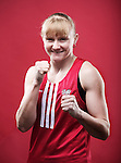 Welsh Amateur Boxers.Lynsey Holdaway.24.03.12.©Steve Pope