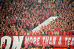 Supporters of Guangzhou Evergrande FC during their AFC Champions League 2017 Match Day 1 Group G match between Guangzhou Evergrande FC (CHN) and Eastern SC (HKG) at the Tianhe Stadium on 22 February 2017 in Guangzhou, China. Photo by Victor Fraile / Power Sport Images