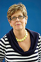 Prue Leith,celebrity cook  and chef now novelist and writer of A Serving of Scandal   at The Edinburgh International  Book Festival 2010 .CREDIT Geraint Lewis