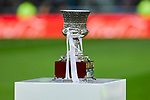 Spanish Supercup trophy during La Liga match between Real Madrid and Sevilla FC at Santiago Bernabeu Stadium in Madrid, Spain. January 18, 2020. (ALTERPHOTOS/A. Perez Meca)