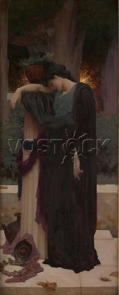Lachrymae (Mary Lloyd), ca. 1894–95, by Frederic, Lord Leighton (1830–1896). The Metropolitan Museum of Art, New York.