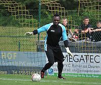 Sporting Menen - KV Oostende : Nicaise Kudimbana<br /> foto VDB / Bart Vandenbroucke