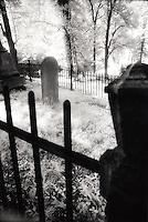 Gravestone behind fence&#xA;&#xA;<br />