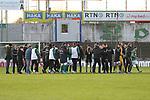 22.11.2020, Dietmar-Scholze-Stadion an der Lohmuehle, Luebeck, GER, 3. Liga, VfB Luebeck vs FC Bayern Muenchen II <br /> <br /> im Bild / picture shows <br /> Endstand 3:0, die Mannschaft des VfB Lübeck/Luebeck<br /> <br /> DFB REGULATIONS PROHIBIT ANY USE OF PHOTOGRAPHS AS IMAGE SEQUENCES AND/OR QUASI-VIDEO.<br /> <br /> Foto © nordphoto / Tauchnitz