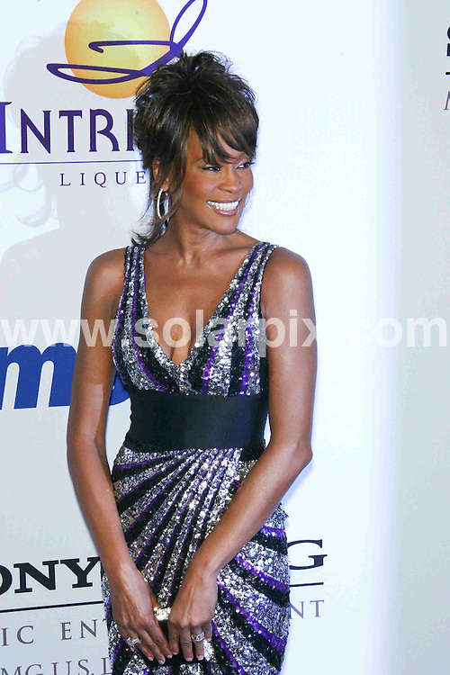 **ALL ROUND PICTURES FROM SOLARPIX.COM**.**SYNDICATION RIGHTS FOR UK, SPAIN, PORTUGAL, AUSTRALIA, S.AFRICA & DUBAI (U.A.E) ONLY**.2008 Clive Davis Pre-GRAMMY Party - Arrivals at The Beverly Hilton Hotel, Beverly Hills, CA, USA. 9th February 2008..This pic: Whitney Houston..JOB REF: 5749 PHZ    DATE: 09_02_2008.**MUST CREDIT SOLARPIX.COM OR DOUBLE FEE WILL BE CHARGED* *UNDER NO CIRCUMSTANCES IS THIS IMAGE TO BE REPRODUCED FOR ANY ONLINE EDITION WITHOUT PRIOR PERMISSION*
