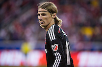HARRISON, NJ - Sunday November 08, 2015: The New York Red Bulls defeat DC United 1-0 at home at Red Bull Arena in the second leg of the Eastern Conference Semi-Finals of the 2015 MLS Playoffs.