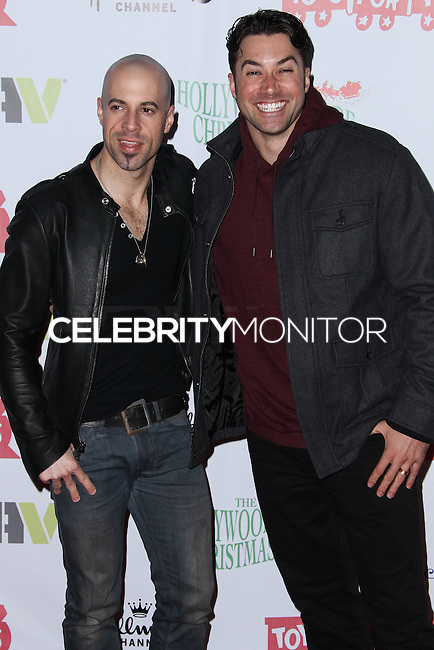 HOLLYWOOD, CA - DECEMBER 01: Chris Daughtry, Ace Young arriving at the 82nd Annual Hollywood Christmas Parade held at Hollywood Boulevard on December 1, 2013 in Hollywood, California. (Photo by Xavier Collin/Celebrity Monitor)