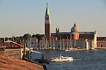 Vaporetta on the Grand Canal, Venice, Italy,