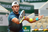 2nd October 2020, Roland Garros, Paris, France; French Open tennis, Roland Garros 2020; Tennis - Roland Garros  2020 - Matteo Berrettini - Italy